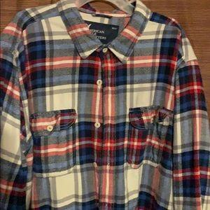 American Eagle flannel shirt!